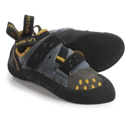 La Sportiva Tarantula Climbing Shoes (For Men and Women) in Anthracite - Closeouts