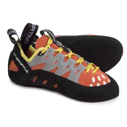 La Sportiva Tarantulace Climbing Shoes (For Little and Big Kids) in Coral - Closeouts