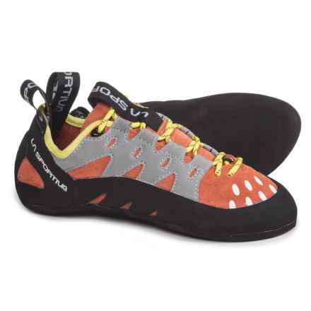 La Sportiva Tarantulace Climbing Shoes (For Women) in Coral - Closeouts