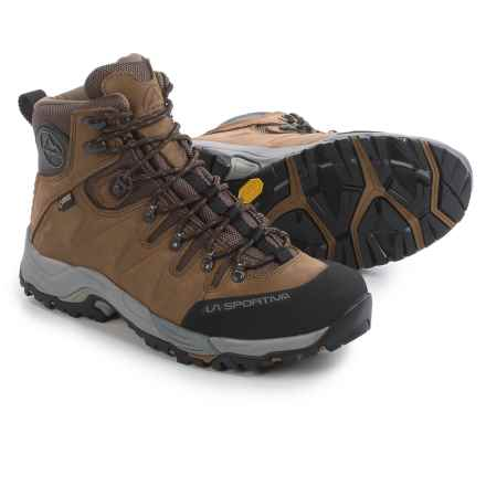 La Sportiva Thunder III Gore-Tex® Hiking Boots - Waterproof, Nubuck (For Men) in Brown - Closeouts