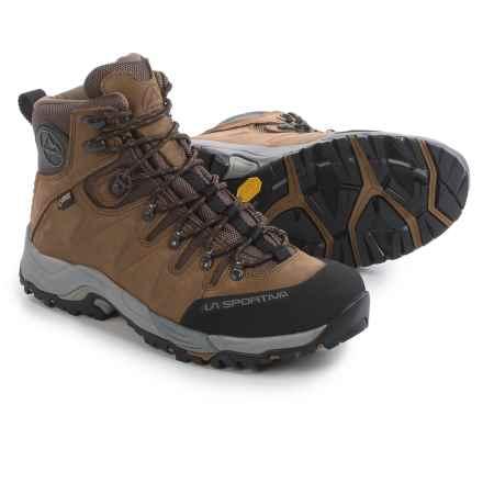 La Sportiva Thunder III Gore-Tex® Hiking Boots - Waterproof, Nubuck (For Men) in Brown - Closeouts