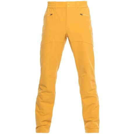 La Sportiva Tuckett Ski Pants (For Men) in Mustard