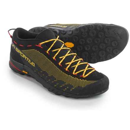 La Sportiva TX2 Hiking Shoes (For Men) in Black/Yellow - Closeouts