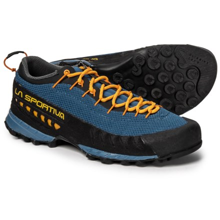 095f20860 Clearance. La Sportiva TX3 Hiking Shoes (For Men) in Blue Papaya - Closeouts