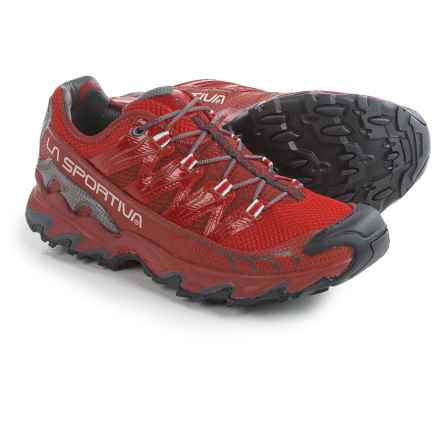 La Sportiva Ultra Raptor Trail Running Shoes (For Men) in Rust/Red - Closeouts