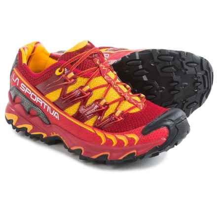 La Sportiva Ultra Raptor Trail Running Shoes (For Women) in Berry - Closeouts