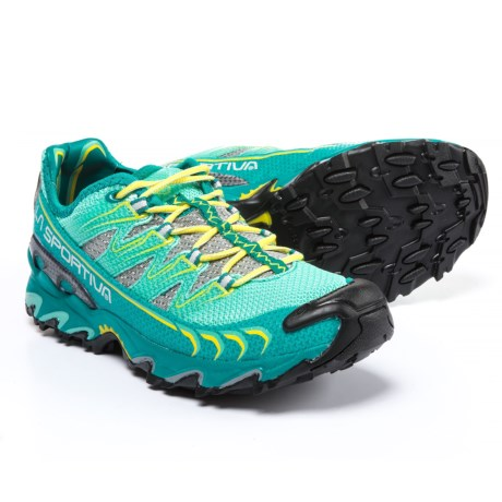 La Sportiva Ultra Raptor Trail Running Shoes (For Women) in Emerald/Mint