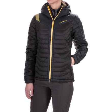 La Sportiva Universe Hooded Down Jacket - 700 Fill Power (For Women) in Black - Closeouts