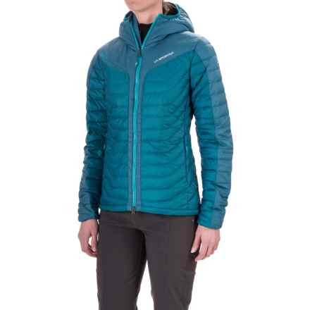 La Sportiva Universe Hooded Down Jacket - 700 Fill Power (For Women) in Fjord - Closeouts