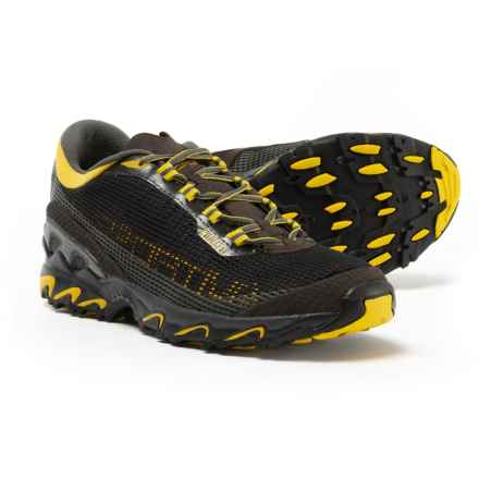 La Sportiva Wildcat 3.0 Trail Running Shoes (For Men) in Black/Yellow - Closeouts