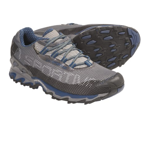 La Sportiva Wildcat Gore-Tex® Trail Running Shoes - Waterproof (For Men) in Blue/Black