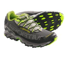 La Sportiva Wildcat Trail Running Shoes (For Men) in Black/Green - Closeouts
