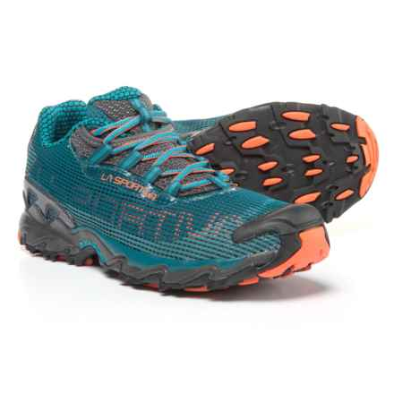 La Sportiva Wildcat Trail Running Shoes (For Men) in Ocean/Flame - Closeouts