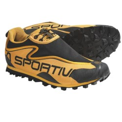 La Sportiva X Country Trail Running Shoes - Minimalist (For Men) in Yellow/Black