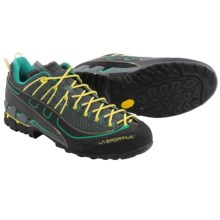 La Sportiva Xplorer Approach Shoes (For Men) in Grey/Green - Closeouts