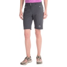 La Sportiva Zen Bermuda Shorts (For Women) in Grey - Closeouts