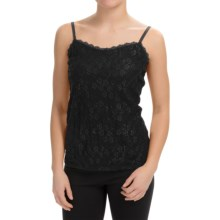 Lace-Front Camisole (For Women) in Black - 2nds