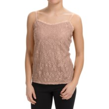 Lace-Front Camisole (For Women) in Pink - 2nds