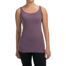 Lace-Trim Tank Top (For Women) in Purple - 2nds