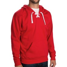 Laced Hoodie  (For Men and Women) in Red - 2nds