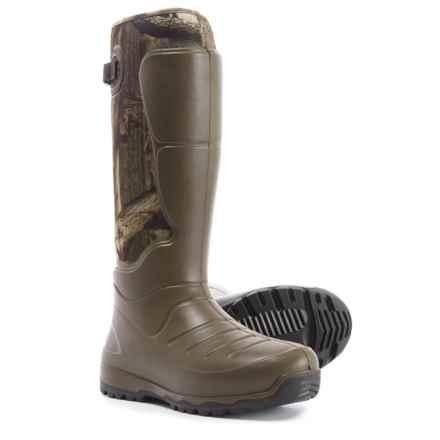 "LaCrosse AeroHead 3.5mm Rubber Hunting Boots - Waterproof, Insulated, 18"" Shaft (For Men) in Mossy Oak Break-Up Infinity - Closeouts"