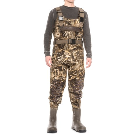 LaCrosse Aerotuff Waders - Insulated, Bootfoot (For Men) in Realtree Max-5