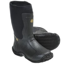 LaCrosse Alpha Mudlite Hunting Boots - Waterproof (For Kids) in Black - Closeouts