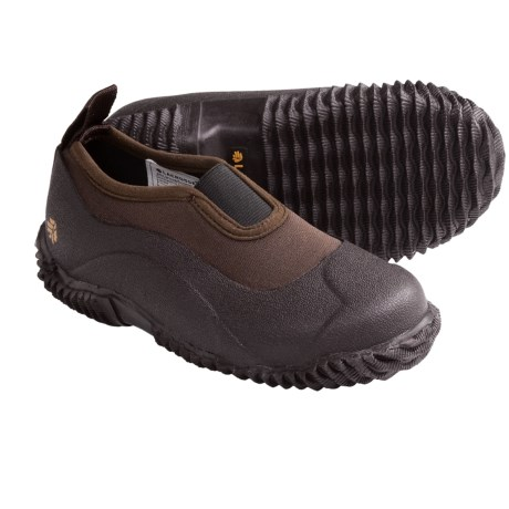 LaCrosse Alpha Mudlite Moc Hunting Shoes - Waterproof (For Kids and Youth) in Brown