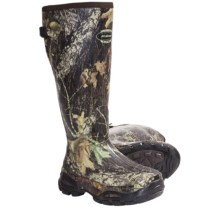 "LaCrosse Alphaburly Sport Hunting Boots - 18"", Waterproof, Insulated (For Men) in Mossy Oak Break Up - Closeouts"