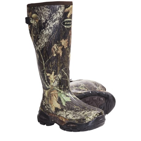 "LaCrosse Alphaburly Sport Hunting Boots - 18"", Waterproof, Insulated (For Men) in Mossy Oak Break Up"