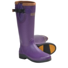 "LaCrosse Alphafilly 16"" Boots - Waterproof Rubber (For Women) in Purple - Closeouts"