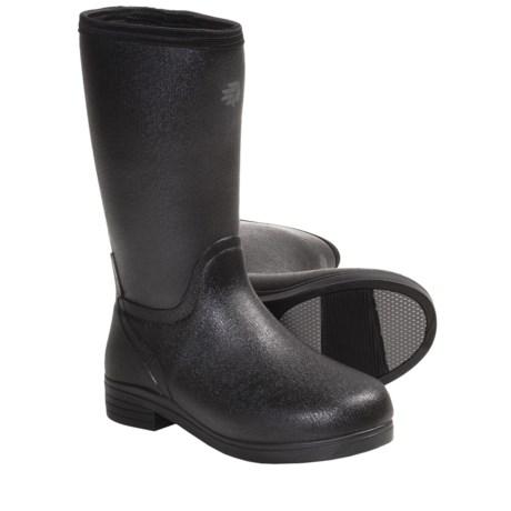 """LaCrosse Cape Cod 12"""" Boots - Waterproof Rubber (For Women) in Wallpaper"""