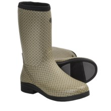 "LaCrosse Cape Cod 12"" Boots - Waterproof Rubber (For Women) in Wallpaper - Closeouts"