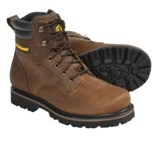 "LaCrosse Foreman Work Boots - Plain Toe, 6"" (For Men) in Brown - Closeouts"