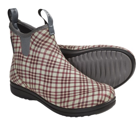 LaCrosse Hampton II Boots - Waterproof (For Women) in Red Tweed