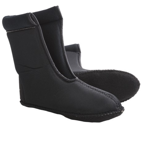 LaCrosse Pine Top Boot Liners - Foam Cushion (For Men) in Black