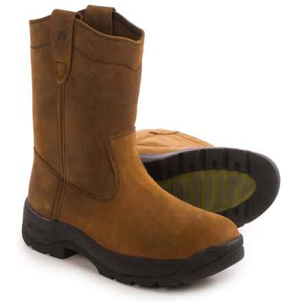 "LaCrosse Quad Comfort 11"" Wellington Work Boots - Steel Toe (For Men) in Brown - Closeouts"