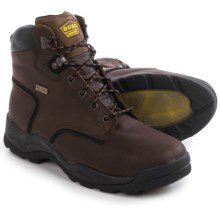 "LaCrosse Quad Comfort 4x6"" Work Boots - Waterproof, Steel Toe (For Men) in Dark Brown - Closeouts"