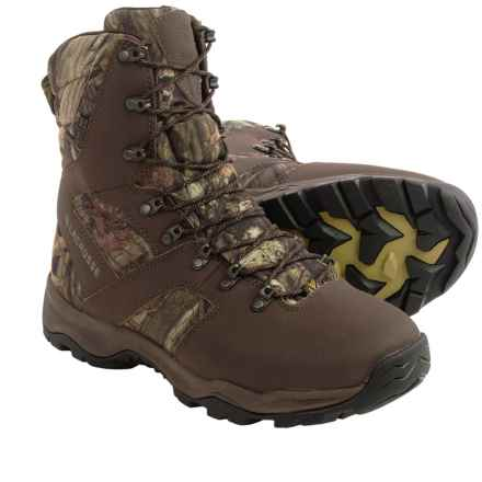 "LaCrosse Quick Shot 8"" Mossy Oak Hunting Boots - Waterproof, Insulated (For Men) in Break-Up Infinity - Closeouts"