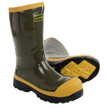 "LaCrosse SPOG 12"" Rubber Work Boots - Safety Toe (For Men) in Olive Green - Closeouts"