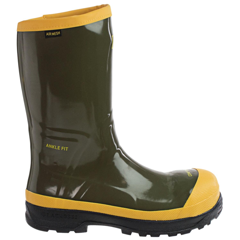 LaCrosse SPOG 12u201d Rubber Work Boots (For Men) - Save 80%