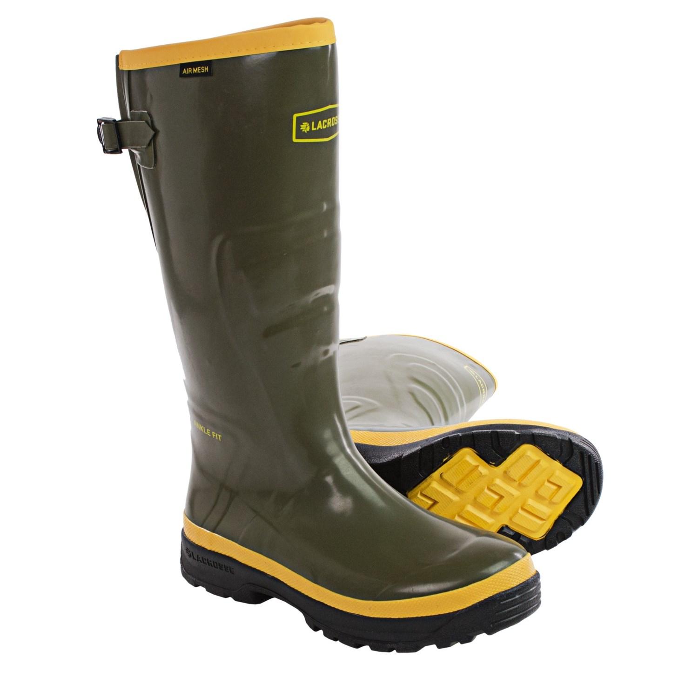 "LaCrosse SPOG 16"" Rubber Work Boots (For Men) - Save 70%"