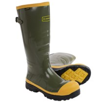 """LaCrosse SPOG 16"""" Rubber Work Boots - Waterproof, Safety Toe (For Men) in Olive Green - Closeouts"""