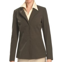 Lafayette 148 New York Alec Jacket - Winter Cotton Cloth (For Women) in Loden - Closeouts