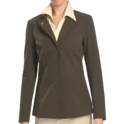 Lafayette 148 New York Alec Jacket - Winter Cotton Cloth (For Women) in Loden