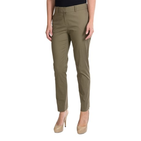 Lafayette 148 New York Casual Skinny Ankle Pants (For Women) in Fatigue