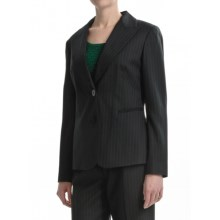 Lafayette 148 New York Classic Suit Jacket - Wool (For Women) in Black Forest - Closeouts