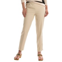 Lafayette 148 New York Crop Pants (For Women) in Stone - Closeouts