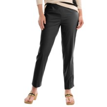 Lafayette 148 New York Cropped Pants (For Women) in Black - Closeouts