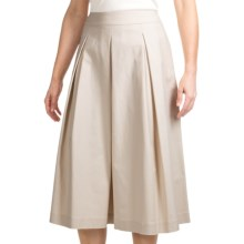 Lafayette 148 New York Frieda Raffia Skirt - Metropolitan Stretch (For Women) in Raffia - Closeouts